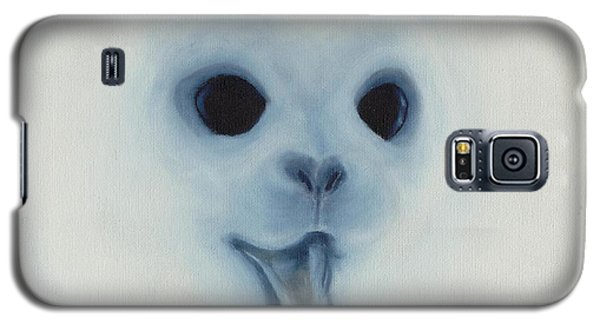 Galaxy S5 Case featuring the painting Save The Baby Seals by Annemeet Hasidi- van der Leij