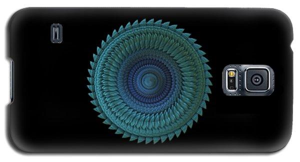 Galaxy S5 Case featuring the digital art Sawblade by Lyle Hatch