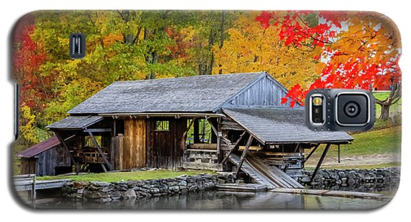 Sawmill Reflection, Autumn In New Hampshire Galaxy S5 Case