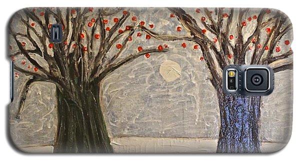 Sawsan's Trees Galaxy S5 Case by Mario Perron