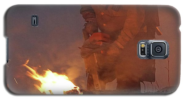 Sawyer, North Pole Fire Galaxy S5 Case