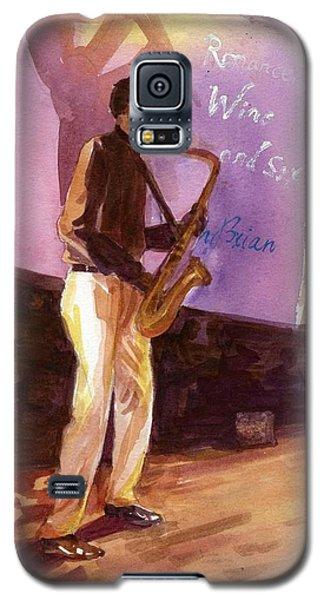 Sax Galaxy S5 Case by Ping Yan