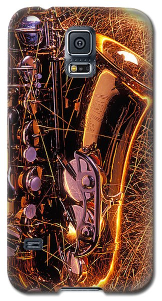 Sax With Sparks Galaxy S5 Case