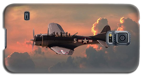 Galaxy S5 Case featuring the digital art  Sbd - Dauntless by Pat Speirs