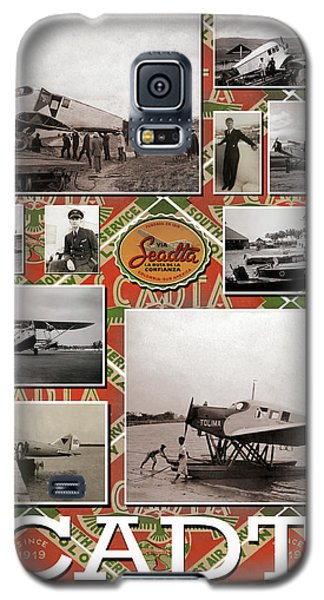 Scadta Airline Poster Galaxy S5 Case