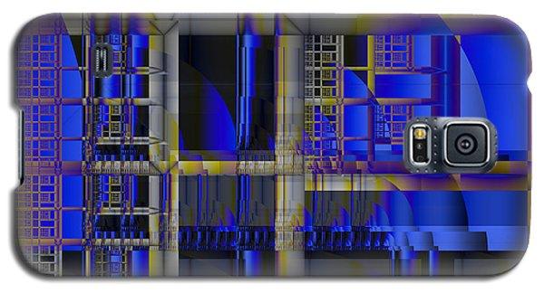 Galaxy S5 Case featuring the digital art Scaffold II by Richard Ortolano
