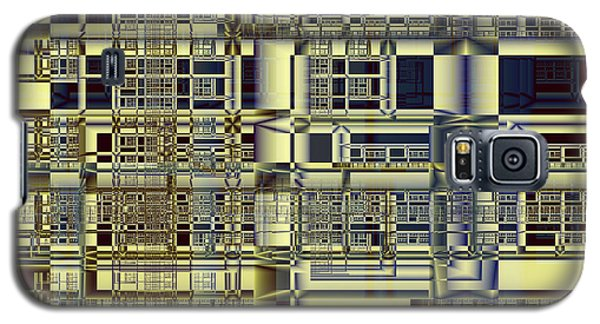 Galaxy S5 Case featuring the digital art Scaffolds by Richard Ortolano