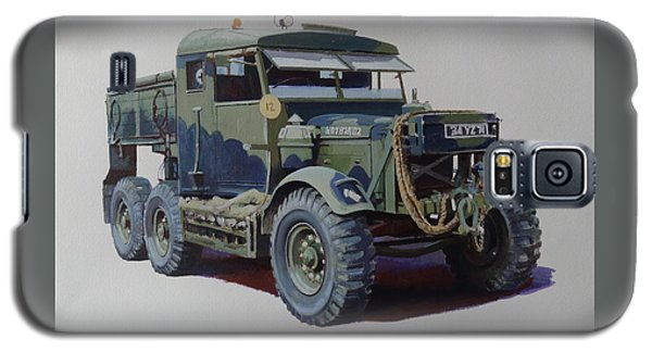 Galaxy S5 Case featuring the painting Scammell Pioneer Wrecker. by Mike  Jeffries