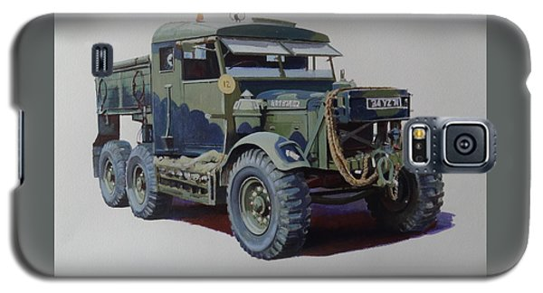 Scammell Pioneer Wrecker. Galaxy S5 Case by Mike  Jeffries