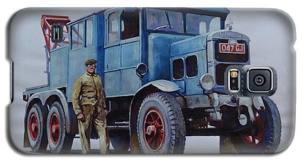 Scammell Wrecker. Galaxy S5 Case by Mike Jeffries