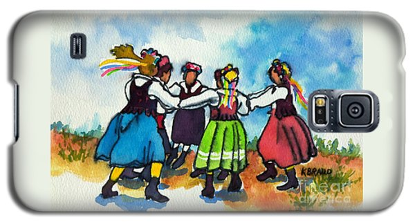 Scandinavian Dancers Galaxy S5 Case by Kathy Braud