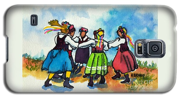 Scandinavian Dancers Galaxy S5 Case