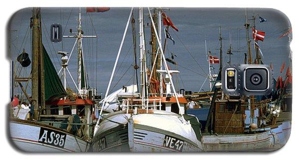 Scandinavian Fisher Boats Galaxy S5 Case