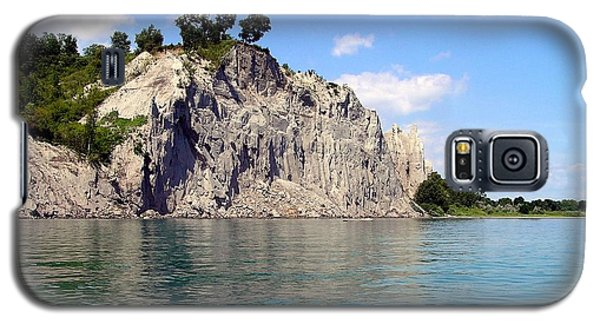 Galaxy S5 Case featuring the photograph Scarborough Bluffs-lake View by Susan  Dimitrakopoulos