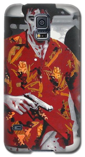 Scarface 2013 Galaxy S5 Case by Luis Ludzska