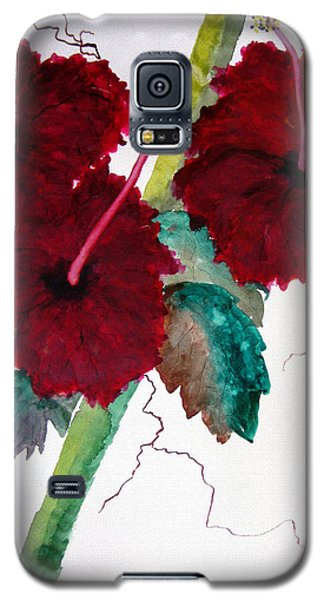 Scarlet Red Galaxy S5 Case by Lil Taylor