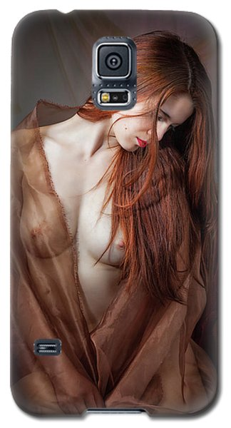 Galaxy S5 Case featuring the photograph Scarlet Repose by Rikk Flohr