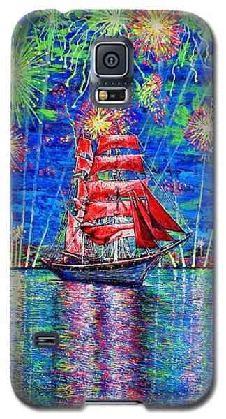Scarlet Sail Galaxy S5 Case