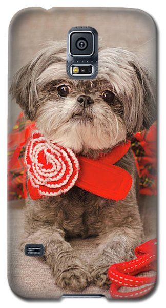 Scarlett And Red Purse Galaxy S5 Case
