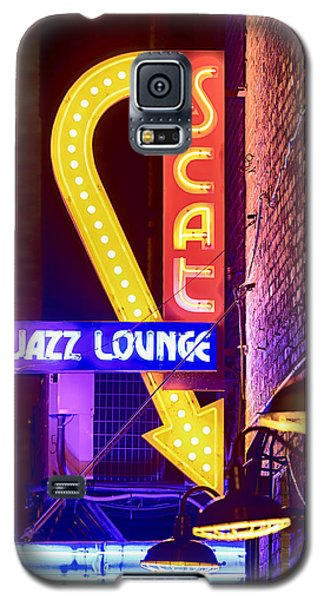Scat Jazz Neon V3 Galaxy S5 Case