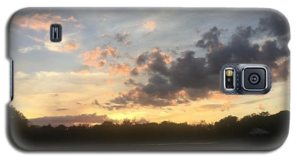 Scattered Sunset Clouds Galaxy S5 Case