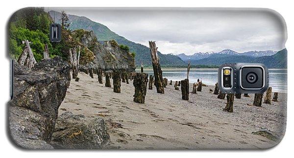 Scene In Halibut Cove Galaxy S5 Case