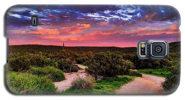 Galaxy S5 Case featuring the photograph Scenic Trailhead by Anthony Citro