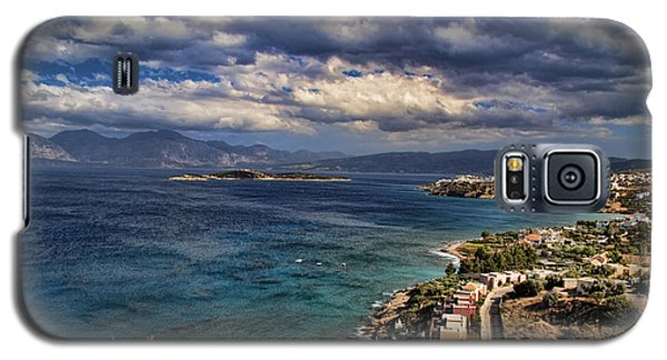 Scenic View Of Eastern Crete Galaxy S5 Case by David Smith