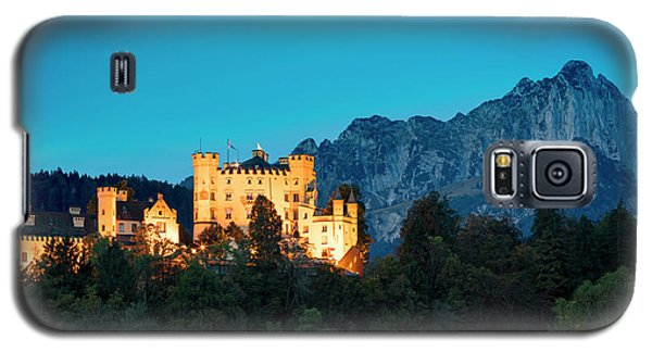 Galaxy S5 Case featuring the photograph Schloss Hohenschwangau by Brian Jannsen