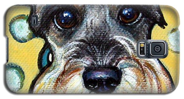 Schnauzer With Polkadots Galaxy S5 Case