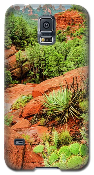 Schnebly Hill 07-057 Galaxy S5 Case