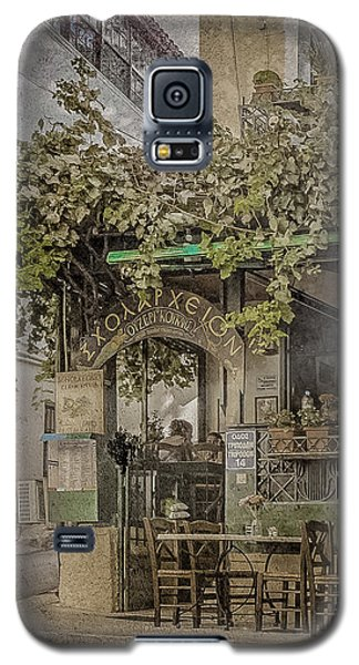 Galaxy S5 Case featuring the photograph Athens, Greece - Scholarcheion by Mark Forte