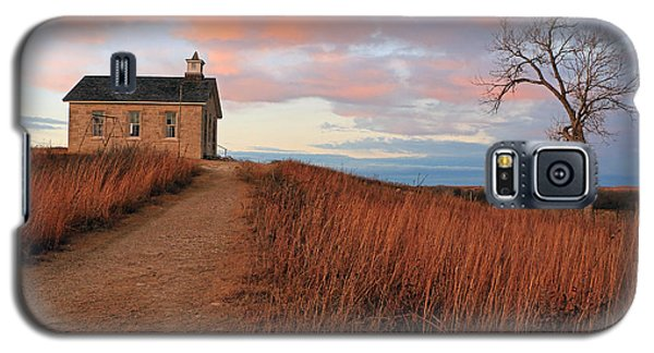 School House Road Galaxy S5 Case by Christopher McKenzie