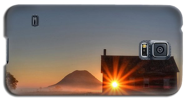 Schoolhouse Sunburst Galaxy S5 Case