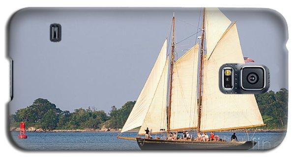 Schooner Cruise, Casco Bay, South Portland, Maine  -86696 Galaxy S5 Case