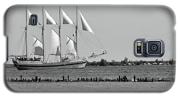 Schooner On Lake Michigan No. 1-1 Galaxy S5 Case