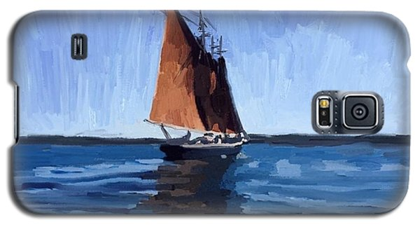 Schooner Roseway In Gloucester Harbor Galaxy S5 Case