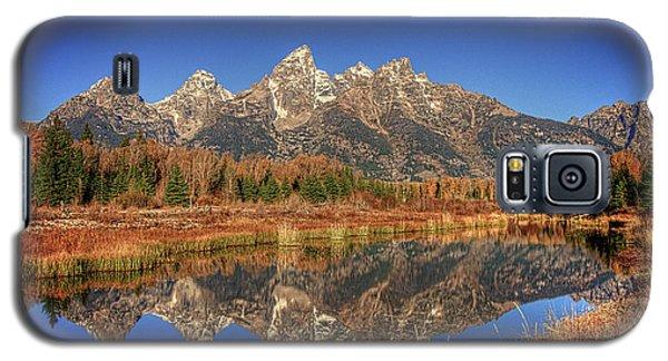 Schwabacher Landing Grand Teton National Park Galaxy S5 Case by James Hammond