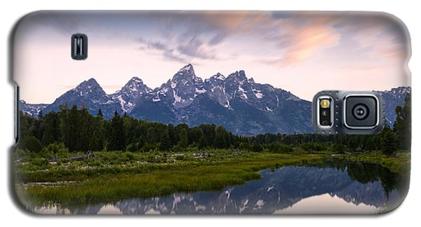 Galaxy S5 Case featuring the photograph Schwabacher Landing In 60 Seconds by Dan Mihai