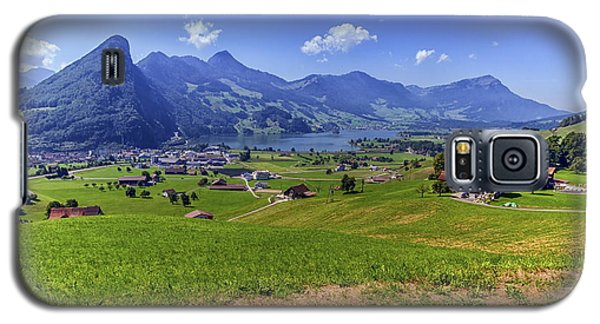 Schwyz And Zurich Canton View, Switzerland Galaxy S5 Case