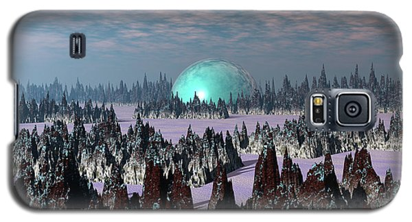 Sci Fi Landscape Galaxy S5 Case