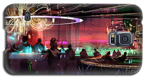 Sci-fi Lounge Galaxy S5 Case