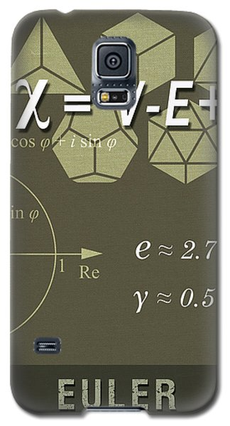 Science Posters - Leonhard Euler - Mathematician, Physicist, Engineer Galaxy S5 Case