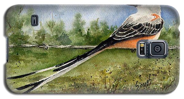 Scissor-tail Flycatcher Galaxy S5 Case by Sam Sidders