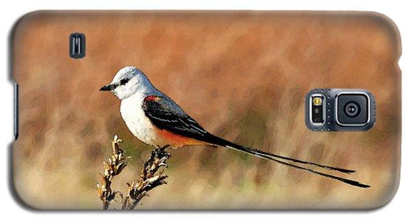 Scissor-tailed Flycatcher Galaxy S5 Case by Betty LaRue