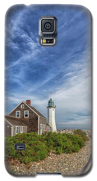 Scituate Lighthouse Boardwalk Galaxy S5 Case
