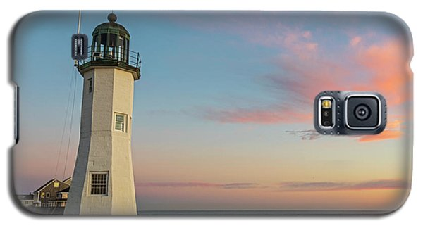 Scituate Lighthouse Scituate Massachusetts South Shore At Sunrise Galaxy S5 Case