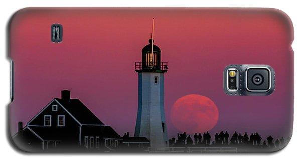 Scituate Supermoon Galaxy S5 Case