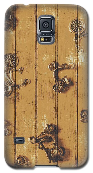 Motorcycle Galaxy S5 Case - Scooter Shed  by Jorgo Photography - Wall Art Gallery