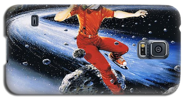 Scott Hamilton Skates The Stars Galaxy S5 Case